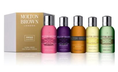 Molton Brown celebrates London 2012 with MMXII line