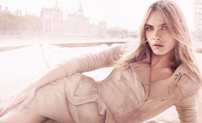 Cara Delevingne announced as face of Burberry fragrance