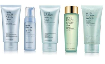 estee lauder presents perfectly clean collection launches relaunches